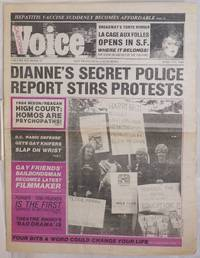 California Voice: the responsible gay press; vol. 6, #23, June 7-13, 1984; Dianne\'s Secret Police Report Stirs Protests