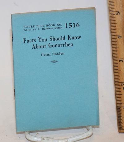 Girard: Haldeman-Julius Company, n.d.. 32p., 3.5 x 5 inch wraps; lightly edgeworn. Little blue book ...