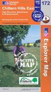 image of Chiltern Hills East (OS Explorer Map Active)