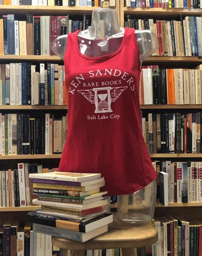 Salt Lake City: Ken Sanders Rare Books, 2020. The perfect tank top for the stylishly bookish! (KSRB ...