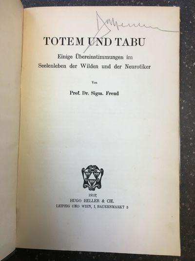 Leipzig und Wien: Hugo Heller & Cie, 1913. First Edition. Hardcover. Octavo, , 149 pages; bound in t...