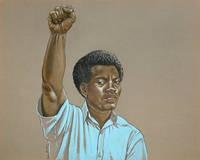 image of Original illustration: Raised Fist