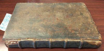 Paris: Chez E'tienne Du Castin, 1689. Hardcover. Octavo; pp 155; Fair; dark brown spine with raised ...