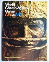 First Super Bowl Program Book - World Championship Game AFL-NFL 1967