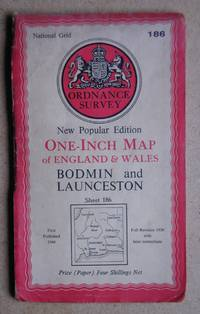 image of Bodmin and Launceston. New Popular Edition. Sheet 186.