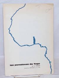 image of Les Paradoxes du Togo: extrait du Tropiques, Juin 1960
