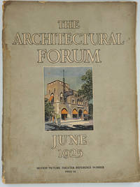 image of The Architectural Forum, June 1925.  Vol XLII Number 6 Motion Picture Theater Reference Number.  Periodical