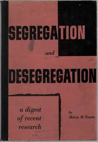 image of Segregation and Desegregation: A Digest of Recent Research