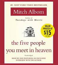 image of The Five People You Meet in Heaven: A Fable