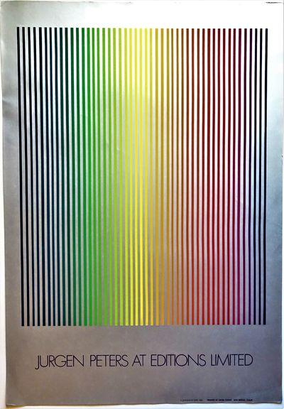 San Rafael, CA: Mark Evans , 1980. Original lithograph exhibition poster, 40
