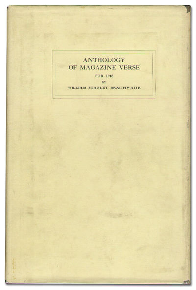 Boston: Small, Maynard & Company, 1918. Hardcover. Fine/Very Good. First edition. Fine in a modestly...