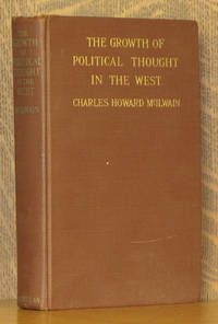 THE GROWTH OF POLITICAL THOUGHT IN THE WEST