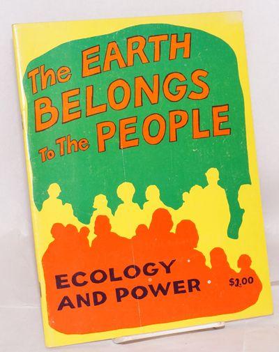 San Francisco: Peoples Press, 1976. 45p., wraps, 8.5x11 inches, illus., wraps lightly worn, pages ev...