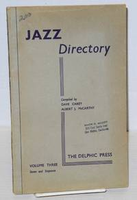 image of The directory; of recorded jazz and swing music (including gospel and blues records); volume three (E F G)