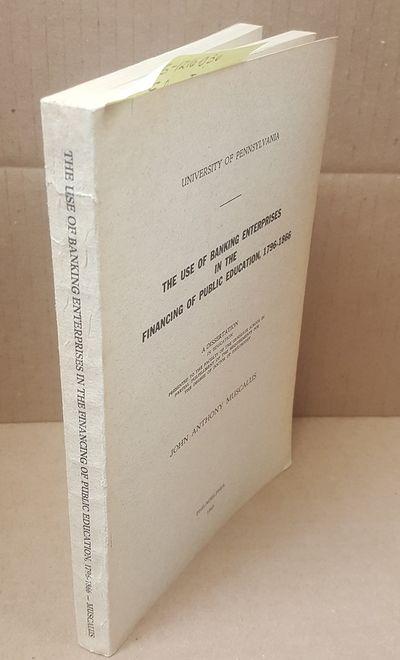 Philadelphia: U. of Pennsylvania, 1945. First edition;. Octavo in paper; VG condition paperback; gre...
