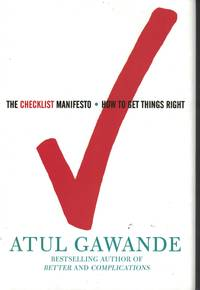 image of Checklist Manifesto How to Get Things Right