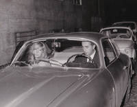 image of Original photograph of Monica Vitti and Michelangelo Antonioni, 1963