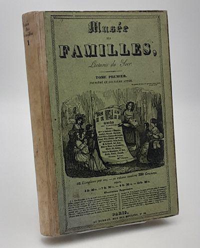 Paris.: Aux Bureau Du Musee des Familles., 1833 - 1834. Quarter vellum over publisher's illustrated ...
