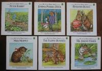 My Little Book About: (6 books from the series):  Peter Rabbit; Jemima Puddle-Duck; Benjamin Bunny; Miss Moppet; The Flopsy Bunnies; Mr. Jeremy Fisher;