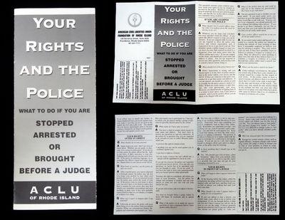 Providence, RI: American Civil Liberties Union Foundation of Rhode Island, . A 'Q & A' pamphlet prov...