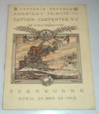 image of SOUVENIR PROGRAM AMERICA'S TRIBUTE TO CAPT. ALFRED F.B. CARPENTER, V.C. OF H.M.S.