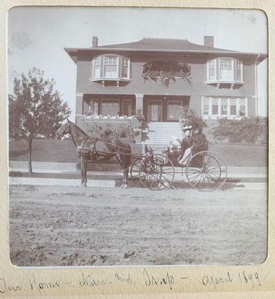 [A delightful Victorian photo album...