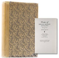 Poems of ... edited with notes by Robert Bridges ... With an appendix of Additional Poems and a critical Introduction by Charles Williams