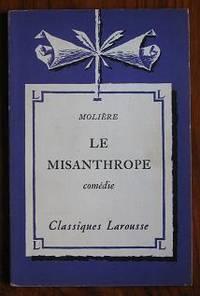 Le Misanthrope: comédie