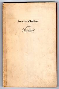 image of Souvenirs d'Egotisme [FRENCH EDITION]
