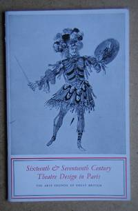 Sixteenth & Seventeenth Century Theatre Design in Paris. by  Agne. Introduction By Beijer - Paperback - First Edition - 1956 - from N. G. Lawrie Books. (SKU: 46106)