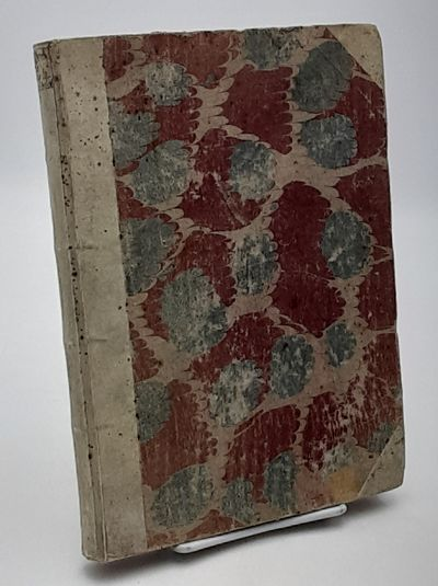 France. (No city).: No Publisher. , 1754. Contemporary half vellum over marbled boards, Speckled edg...