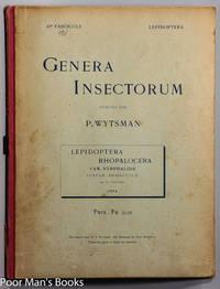 GENERA INSECTORUM; LEPIDOPTERA RHOPALOCERA FASCICULE 20 [GERMAN TEXT  BUTTERFLIES]