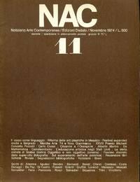 NAC. Novembre 1974. Numero 11.