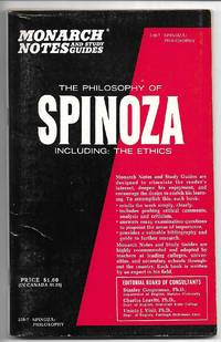 The Philosophy of Spinoza - Monarch Notes and Study Guides
