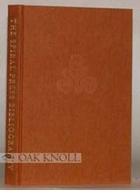 SPIRAL PRESS (1926-1971), A BIBLIOGRAPHICAL CHECKLIST.|THE by  Philip N. (compiler) Cronenwett - 2002 - from Oak Knoll Books/Oak Knoll Press (SKU: 72186)