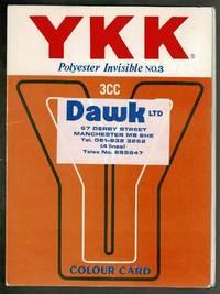 YKK Polyester Invisible No.3 Colour Card