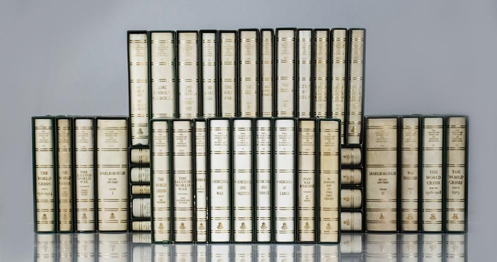 the collected essays of sir winston churchill The collected works of sir winston churchill: collected works of sir winston churchill, library of imperial complete with the four volumes of collected essays.