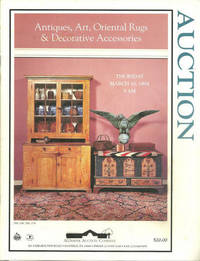 ANTIQUES, ART, ORIENTAL RUGS AND DECORATIVE ACESSORIES Thursday March 10,  1994