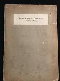 John Calvin Coolidge Notary Public
