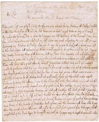 image of Fascinating Pair of Autograph Letters Signed to the Earl CONINGSBY (George, 1657-1732, Lieutenant-General, Commander-in-Chief, Scotland, from 1719 Baron Carpenter in the Irish Peerage)