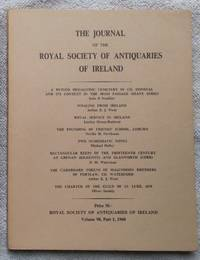 Journal of the Royal Society of Antiquaries of Ireland Volume 98, Part 1, 1968