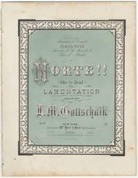 [D-100; Op. 55]. Morte! (She is dead) Lamentation