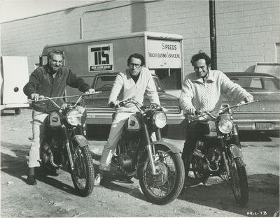Beverly Hills, CA: Elkins Entertainment, 1969. Vintage borderless photograph of director Arthur Penn...