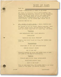 image of Rope of Sand (Original screenplay for the 1949 film noir)