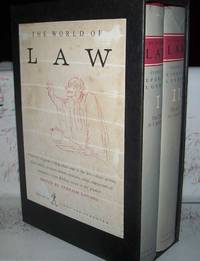 image of The World of Law in Two Volumes: I-The Law IN Literature and II-The Law AS Literature (Boxed Set)