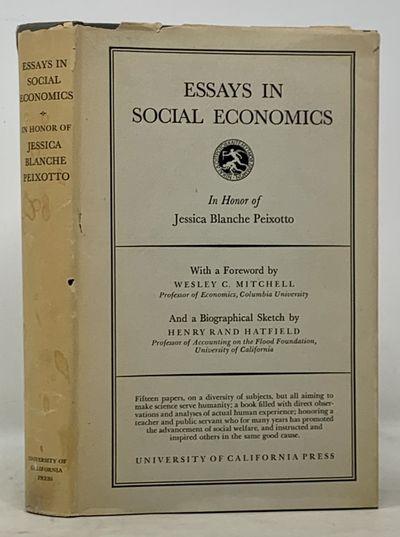 ESSAYS In SOCIAL ECONOMICS In Honor...