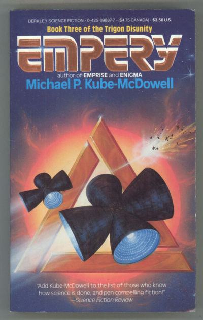 New York: Berkley Books, 1987. Small octavo, pictorial wrappers. First edition.