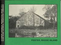 FOSTER, RHODE ISLAND Statewide Historical Preservation Report P-F-1