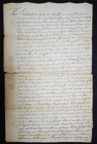 image of Handwritten Deed for a Lot in Reading, Pa