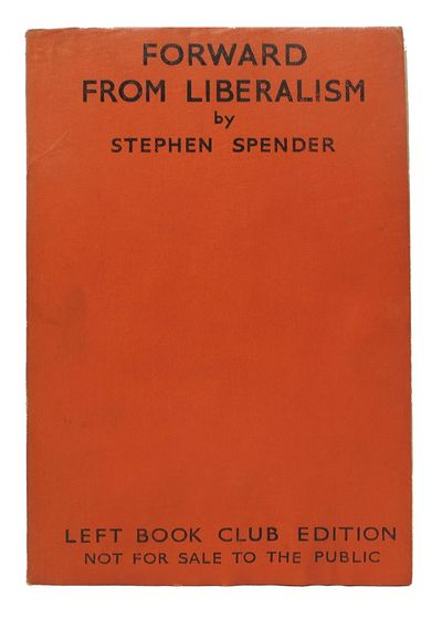 London: Victor Gollancz Ltd, 1937. Left Book Club edition. Orange flexible wrappers. VG (a bit soile...